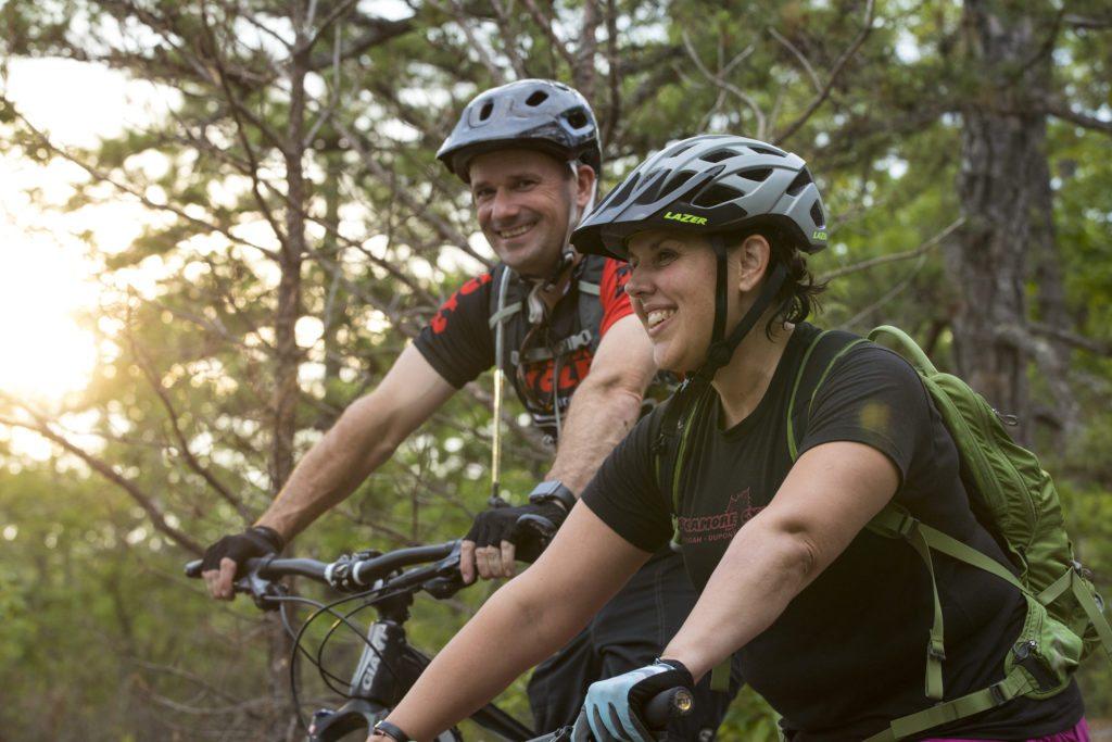 Billy Harris and Hesper Mountain Biking