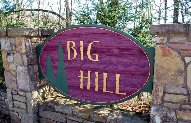 Big Hill Brevard North Carolina