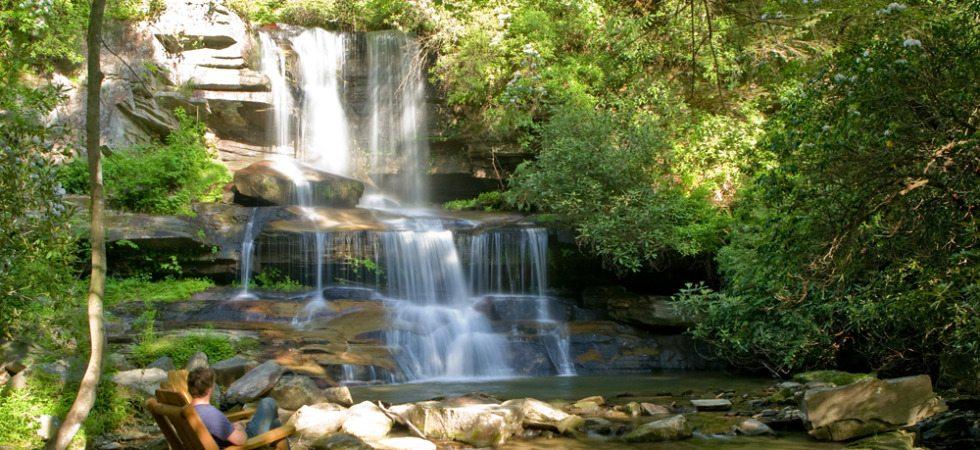 Round Mountain Falls